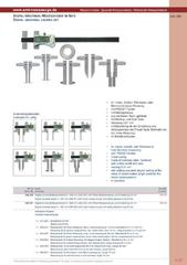 Messwerkzeuge Katalog  Measuring Tools Catalogue 2014/2015  Group 1.27