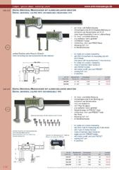 Messwerkzeuge Katalog  Measuring Tools Catalogue 2014/2015  Group 1.30