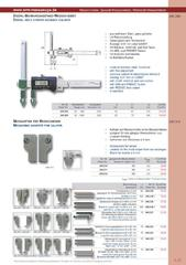 Messwerkzeuge Katalog  Measuring Tools Catalogue 2014/2015  Group 1.31