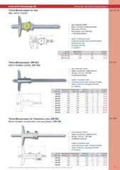Messwerkzeuge Katalog  Measuring Tools Catalogue 2014/2015  Group 2.3