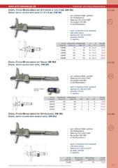 Messwerkzeuge Katalog  Measuring Tools Catalogue 2014/2015  Group 2.7
