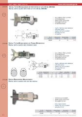 Messwerkzeuge Katalog  Measuring Tools Catalogue 2014/2015  Group 2.8