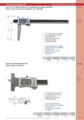 Messwerkzeuge Katalog  Measuring Tools Catalogue 2014/2015  Group 2.9