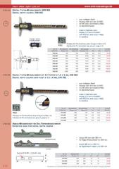 Messwerkzeuge Katalog  Measuring Tools Catalogue 2014/2015  Group 2.10
