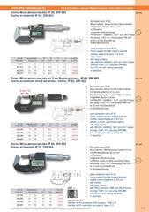Messwerkzeuge Katalog  Measuring Tools Catalogue 2014/2015  Group 3.9