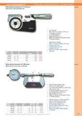 Messwerkzeuge Katalog  Measuring Tools Catalogue 2014/2015  Group 3.11