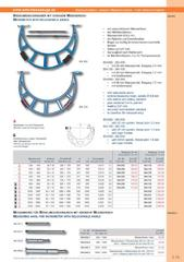 Messwerkzeuge Katalog  Measuring Tools Catalogue 2014/2015  Group 3.13