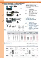 Messwerkzeuge Katalog  Measuring Tools Catalogue 2014/2015  Group 3.14