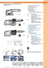 Messwerkzeuge Katalog  Measuring Tools Catalogue 2014/2015  Group 3.17