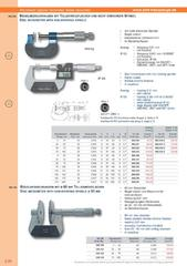 Messwerkzeuge Katalog  Measuring Tools Catalogue 2014/2015  Group 3.20