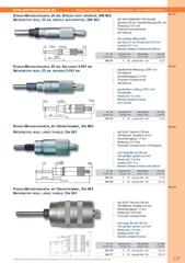 Messwerkzeuge Katalog  Measuring Tools Catalogue 2014/2015  Group 3.27