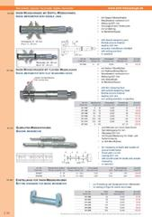 Messwerkzeuge Katalog  Measuring Tools Catalogue 2014/2015  Group 3.30