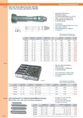 Messwerkzeuge Katalog  Measuring Tools Catalogue 2014/2015  Group 3.32
