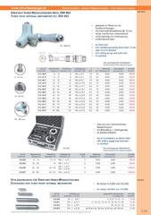 Messwerkzeuge Katalog  Measuring Tools Catalogue 2014/2015  Group 3.33