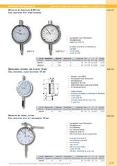 Messwerkzeuge Katalog  Measuring Tools Catalogue 2014/2015  Group 4.11