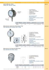 Messwerkzeuge Katalog  Measuring Tools Catalogue 2014/2015  Group 4.13