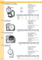 Messwerkzeuge Katalog  Measuring Tools Catalogue 2014/2015  Group 4.20
