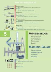 Messwerkzeuge Katalog  Measuring Tools Catalogue 2014/2015  Group 5