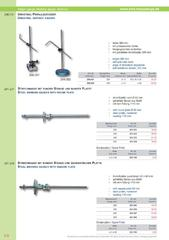 Messwerkzeuge Katalog  Measuring Tools Catalogue 2014/2015  Group 5.8