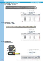 Messwerkzeuge Katalog  Measuring Tools Catalogue 2014/2015  Group 7.18