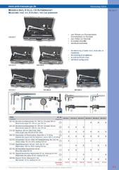 Messwerkzeuge Katalog  Measuring Tools Catalogue 2014/2015  Group 8.5