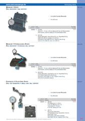 Messwerkzeuge Katalog  Measuring Tools Catalogue 2014/2015  Group 8.7
