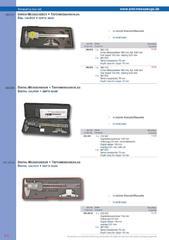 Messwerkzeuge Katalog  Measuring Tools Catalogue 2014/2015  Group 8.8